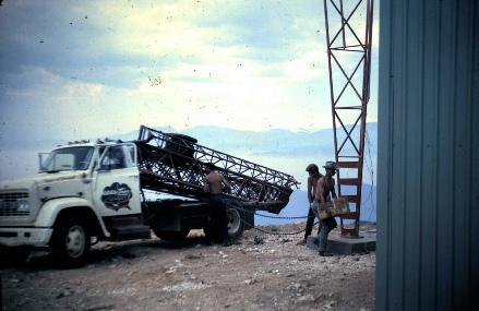 KHOF-TV Construction
